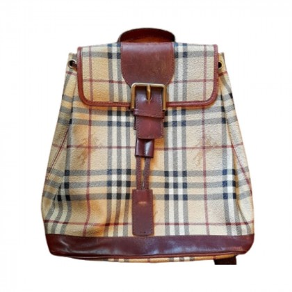 Burberry coated canvas backpack