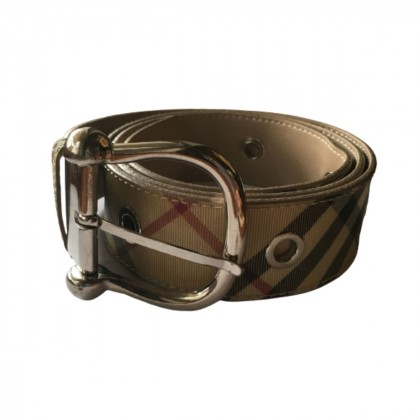 Burberry Leather Belt with metallic elements size 100 cm