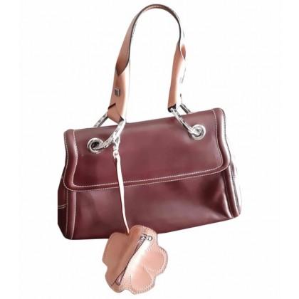 Etienne Aigner brown leather handbag