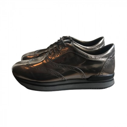 Hogan Charcoal Grey Sneakers size IT38.5