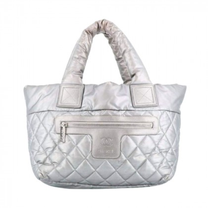 CHANEL Coco Cocoon zipped nylon quilted  tote bag