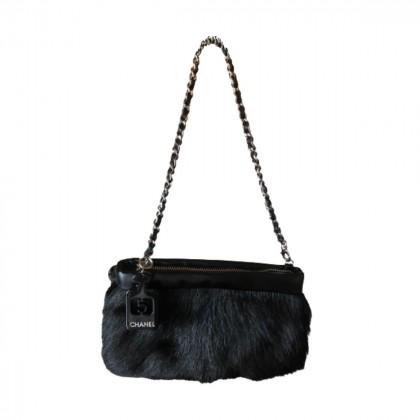Chanel shoulder/clutch bag