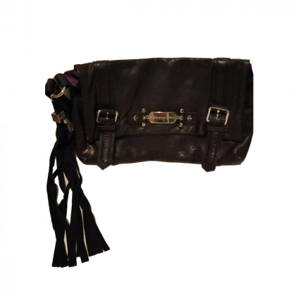 C'N'C costume National leather clutch bag