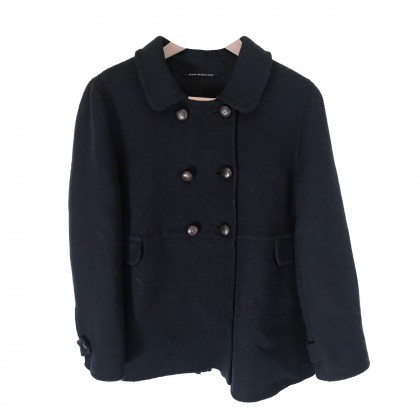 Max Mara Blue Black Coat