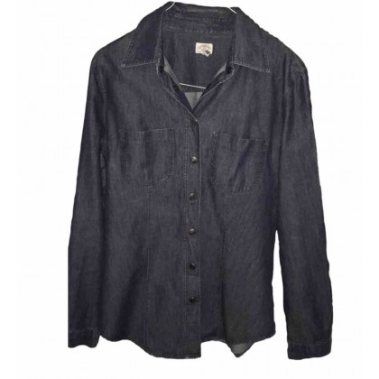 Armani jeans denim shirt size IT42