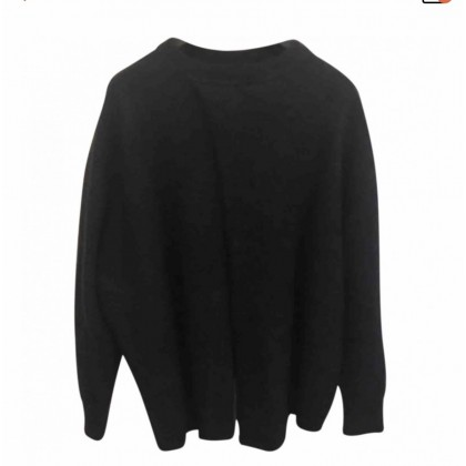 Ellery Tambourine Open Back Blue Sweater