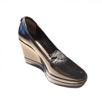 Danos black patent shoes 371/2