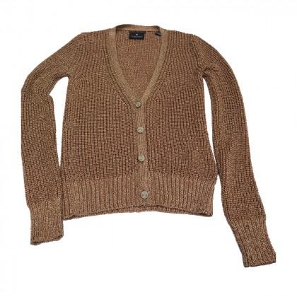 Maison Scotch Gold knitted Cardigan