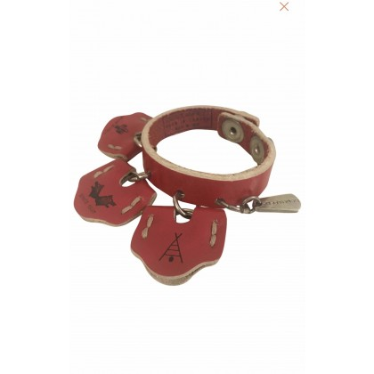 Leathery Dsquared2 bracelet