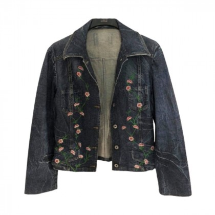 D&G  embroidered denim jacket size S-M