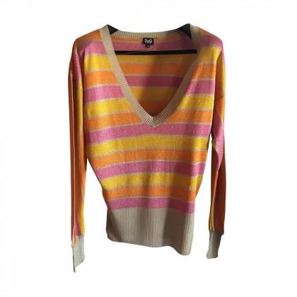 D&G multicolor knitwear