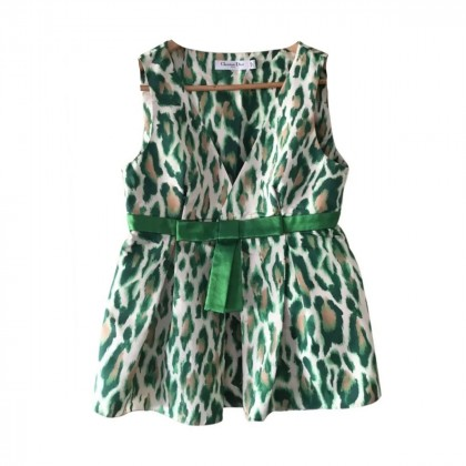 Dior silk top size IT 44