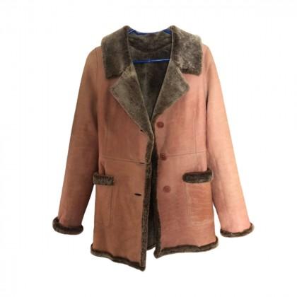 DKNY sheepskin coat size S
