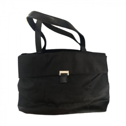 DKNY large black tote bag