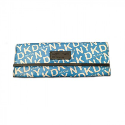 DKNY JEANS logo Clutch bag