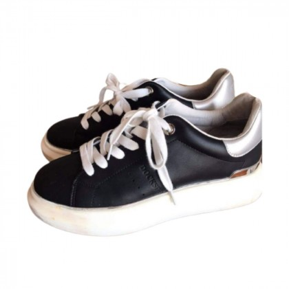 Docksteps black leather sneakers size 39