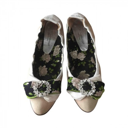 DOLCE & GABBANA BALLET FLATS size IT 37 1/2
