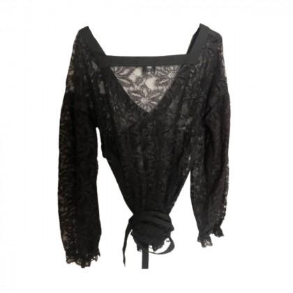 D&G black lace tunic size IT 42