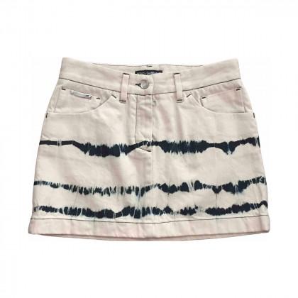 DOLCE&GABBANA mini skirt size IT38