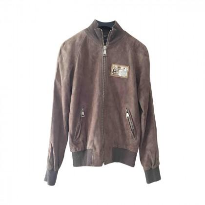 DOLCE & GABBANA suede jacket size IT40