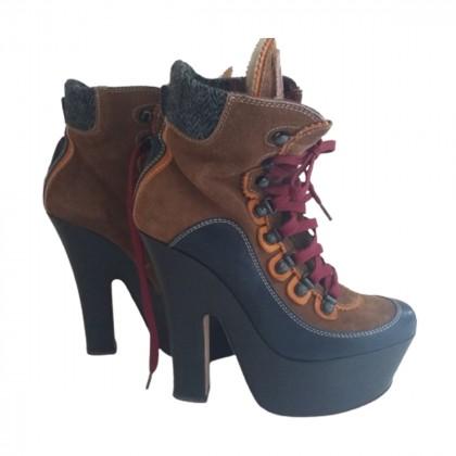 DSQUARED platform ankle boots size IT 39