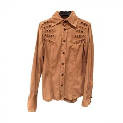 DSQUARED2 beige corduroy waist shirt size IT44