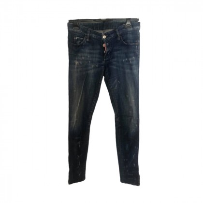 DSQUARED2 blue skinny jeans size IT 40