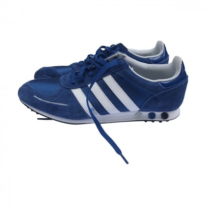 Adidas Blue Stripped Trainers