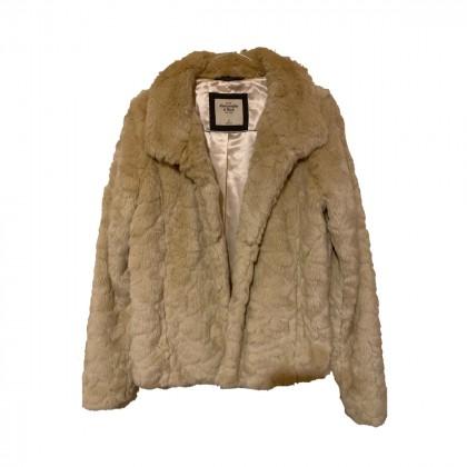 Abercrombie & Fitch faux fur jacket size S