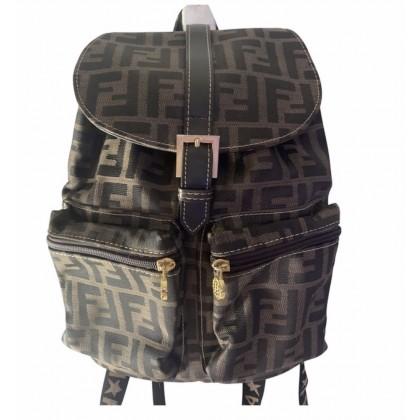 Fendi backpack logo print small size