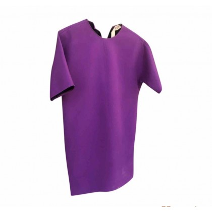 No 21 purple over the knee length boxie fit dress IT 42