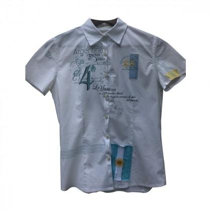 La Martina White Shirt