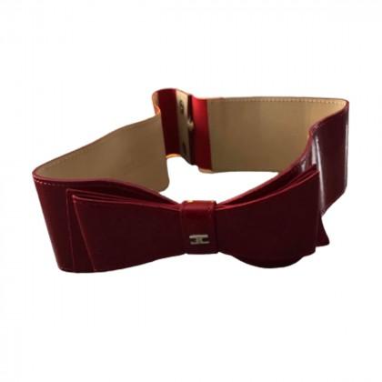 Elisabetta Franchi  patent leather belt
