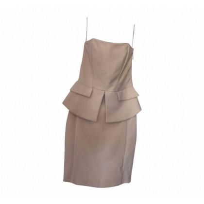 ELISABETTA FRANCHI powder pink dress size IT42