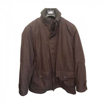 Leonardo Uomo Olive Brown winter Coat