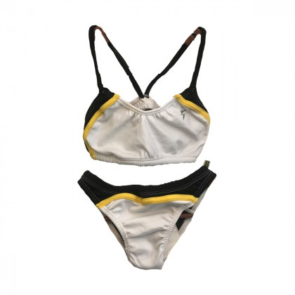 Fabiola Molina White Bikini size M