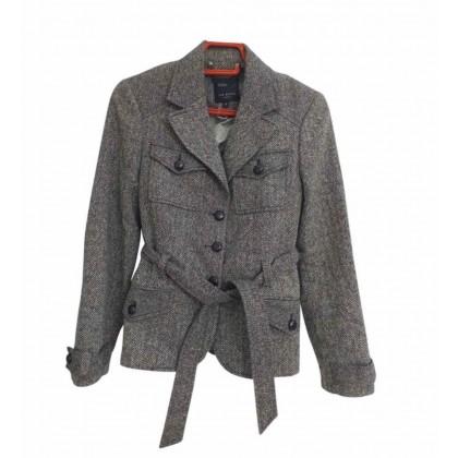 Ted Baker grey blazer size 2