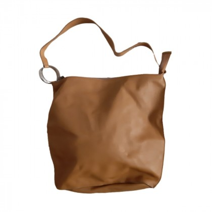 Furla camel leather bag