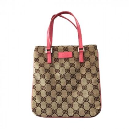 Gucci mini logo canvas bag
