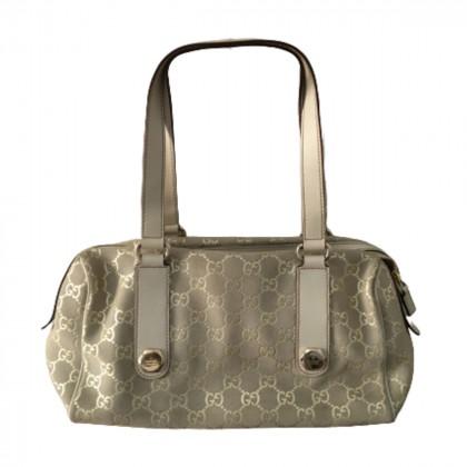 GUCCI Guccissima Suede Charmy Boston Bag