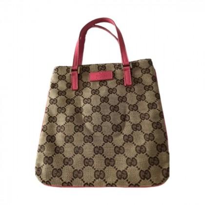Gucci GG logo canvas mini bag
