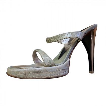 Giuseppe Zanotti  Sandal Crocodile High Heel