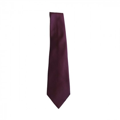 Trussardi Collection  Violet Silk tie