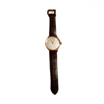 Haurex unisex rose gold Italian quartz watch