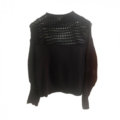 Helmut Lang black knitted sweater size M