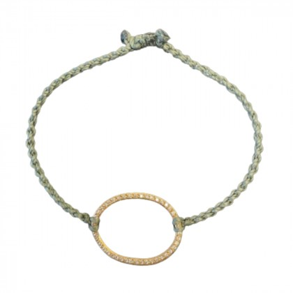 Ileana Makri African Orphan Aid Limited edition bracelet 18K rose gold and diamonds
