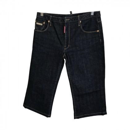 DsQuared2 Blue Denim Jeans Jupe Cullotte