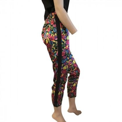 Armani Jeans Flower Print Trousers