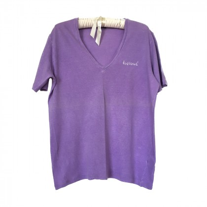 Dsquared2 purple t-shirt