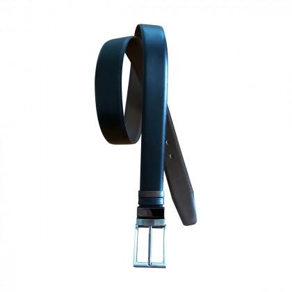 BI COLOR mens leather belt